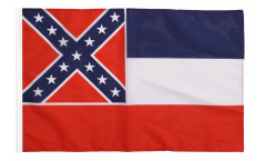 Flagge USA Mississippi - 30 x 45 cm