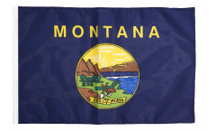 Flagge mit Hohlsaum USA Montana