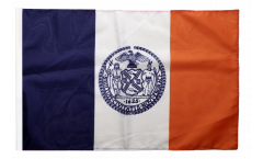 Flagge mit Hohlsaum USA New York CITY
