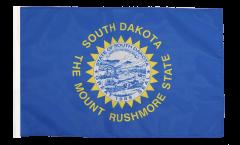 Flagge USA South Dakota - 30 x 45 cm