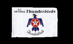 Flagge USA Thunderbirds US Air Force - 30 x 45 cm