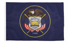 Flagge mit Hohlsaum USA Utah