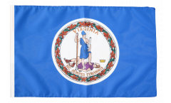 Flagge mit Hohlsaum USA Virginia