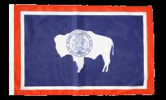 Flagge USA Wyoming - 30 x 45 cm