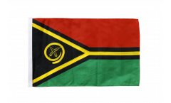 Flagge mit Hohlsaum Vanuatu