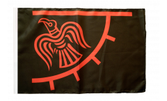 Flagge mit Hohlsaum Wikinger Odinicraven
