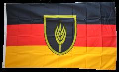 Flagge Wolgadeutsche - 90 x 150 cm