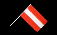 Stockflagge Österreich - 30 x 45 cm
