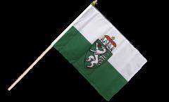 Stockflagge Österreich Steiermark - 30 x 45 cm