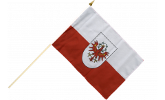 Stockflagge Österreich Tirol - 30 x 45 cm