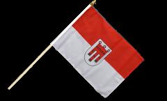 Stockflagge Österreich Vorarlberg - 30 x 45 cm