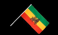 Stockflagge Äthiopien alt - 60 x 90 cm