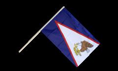 Stockflagge Amerikanisch Samoa - 60 x 90 cm