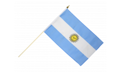 Stockflagge Argentinien - 30 x 45 cm