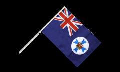 Stockflagge Australien Queensland - 60 x 90 cm