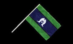 Stockflagge Australien Torres Strait Islands