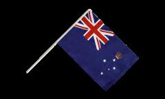 Stockflagge Australien Victoria