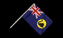 Stockflagge Australien Western