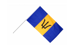 Stockflagge Barbados