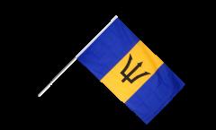 Stockflagge Barbados - 60 x 90 cm