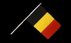 Stockflagge Belgien