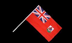 Stockflagge Bermudas