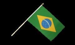 Stockflagge Brasilien - 30 x 45 cm