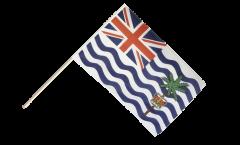 Stockflagge Britisches Territorium im Indischen Ozean - 60 x 90 cm