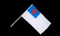 Stockflagge Christenflagge