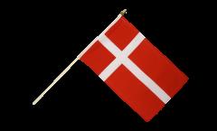 Stockflagge Dänemark