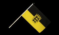 Stockflagge Deutschland Baden-Württemberg - 60 x 90 cm