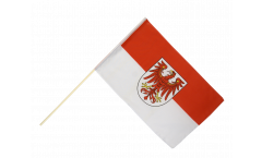Stockflagge Deutschland Brandenburg - 60 x 90 cm