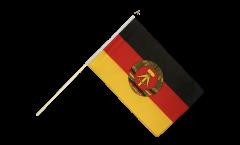 Stockflagge Deutschland DDR - 60 x 90 cm