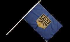Stockflagge Deutschland DDR FDJ Freie Deutsche Jugend - 30 x 45 cm