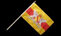 Stockflagge Deutschland Baden mit Wappen - 30 x 45 cm