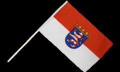 Stockflagge Deutschland Hessen - 60 x 90 cm