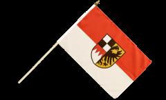 Stockflagge Deutschland Mittelfranken - 30 x 45 cm