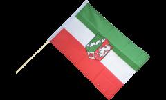 Stockflagge Deutschland Nordrhein-Westfalen - 60 x 90 cm