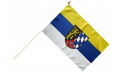 Stockflagge Deutschland Oberpfalz - 30 x 45 cm