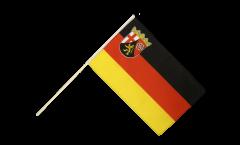 Stockflagge Deutschland Rheinland-Pfalz - 60 x 90 cm