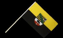 Stockflagge Deutschland Sachsen-Anhalt - 60 x 90 cm