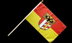 Stockflagge Deutschland Schwaben - 30 x 45 cm