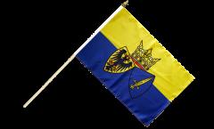Stockflagge Deutschland Stadt Essen - 30 x 45 cm