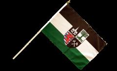 Stockflagge Deutschland Stadt Gelsenkirchen - 30 x 45 cm
