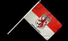 Stockflagge Deutschland Stadt Hohenlimburg - 30 x 45 cm