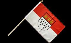 Stockflagge Deutschland Stadt Köln - 30 x 45 cm