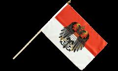 Stockflagge Deutschland Stadt Köln mit großem Wappen - 30 x 45 cm