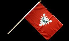 Stockflagge Deutschland Stadt Kiel - 30 x 45 cm