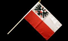 Stockflagge Deutschland Stadt Lübeck - 30 x 45 cm