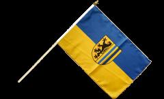 Stockflagge Deutschland Stadt Leipzig - 30 x 45 cm